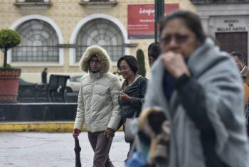 Frente frío 32 causará bajas temperaturas en gran parte del país