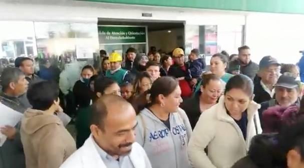 IMSS participa en simulacro en municipio de Soledad, SLP