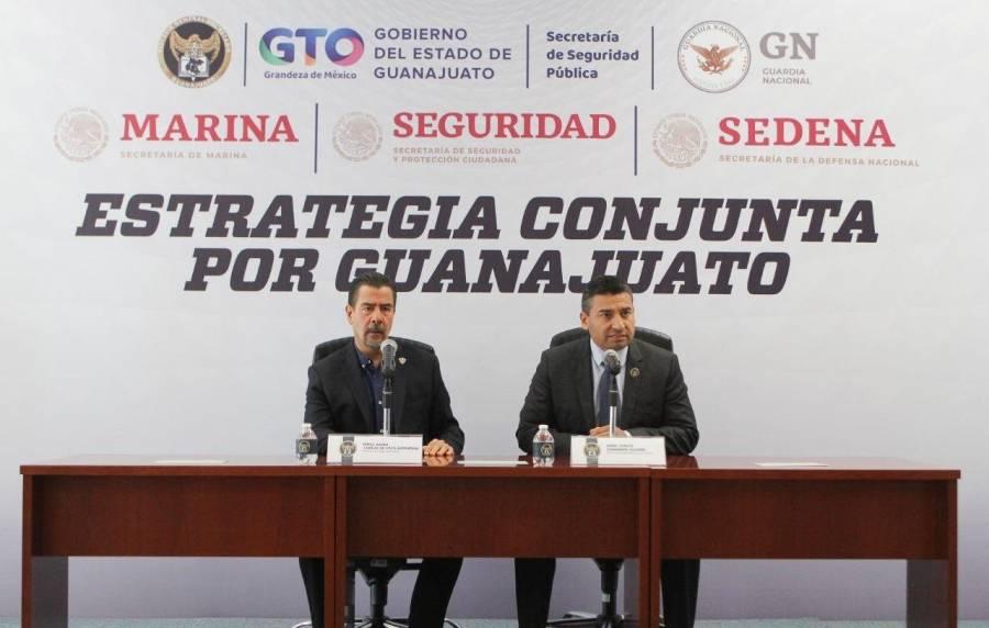 Detenidos, 24 miembros de células criminales en Guanajuato