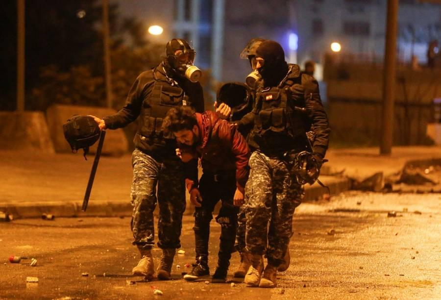 Presidente de Líbano convoca reunión de seguridad tras protestas
