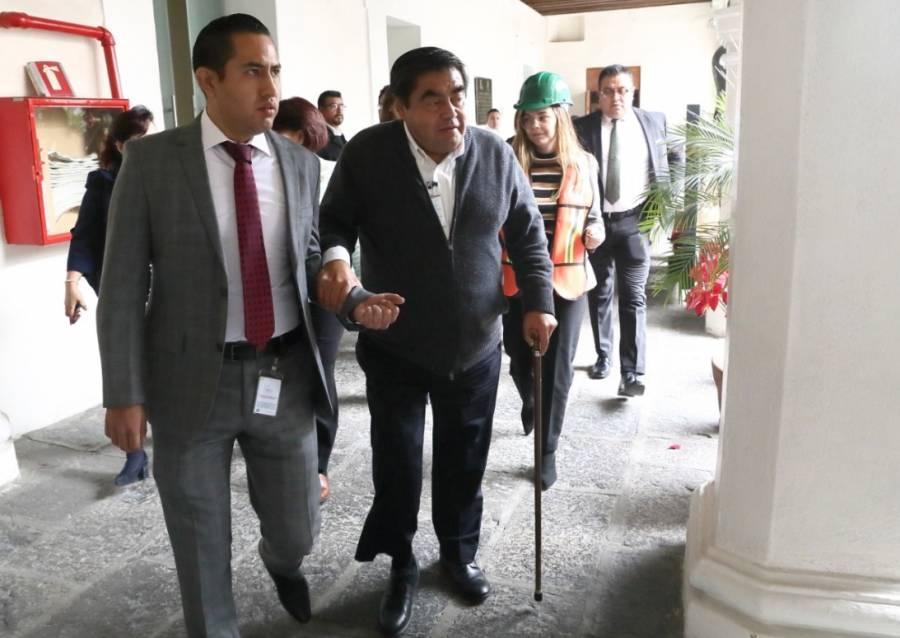 Barbosa encabeza macrosimulacro en la Casa Aguayo