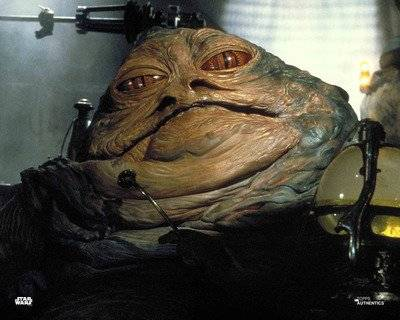 Ahora surge Baby Jabba the Hutt
