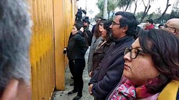 Alumnos que mantienen cerrada la Prepa 9 no acudieron al diálogo convocado con autoridades