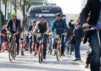 Bicis podrán circular en carril del Trolebús