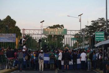 Revisa INM solicitud de caravana migrante en Chiapas