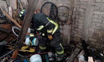 Cuatro personas resultan heridas en un incendio en Coyoacán