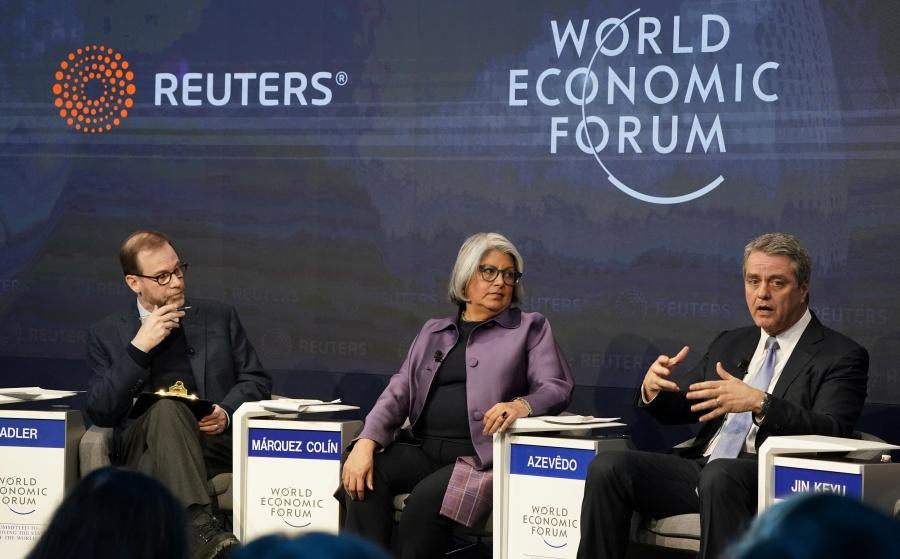 Márquez Colín resalta economía de México en Davos