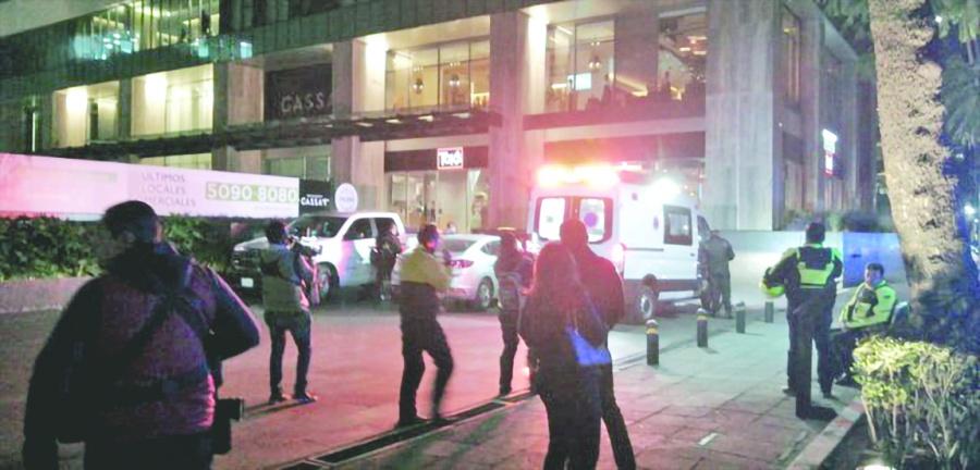 Balacera en edificio de Polanco deja tres muertos