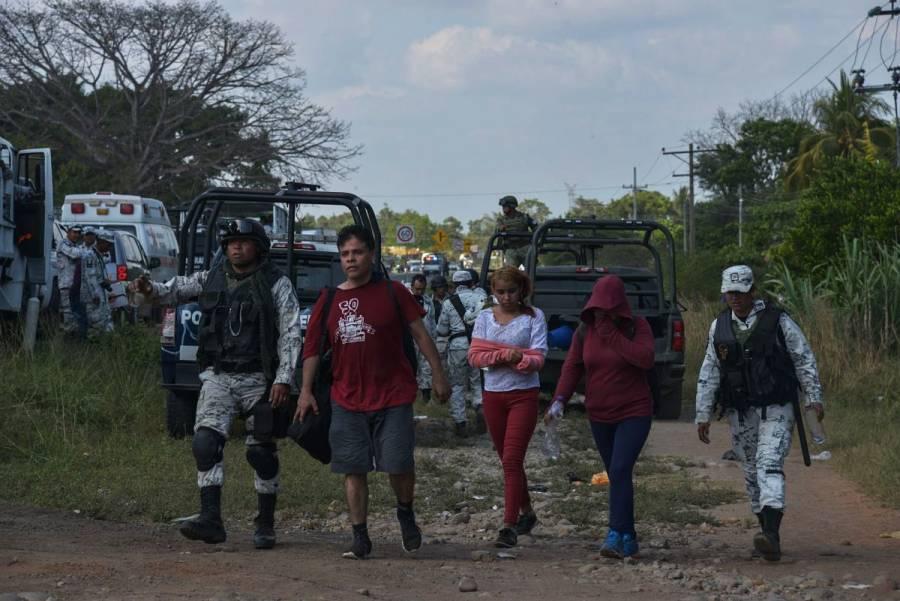 Retorna Migración a 110 migrantes a Honduras