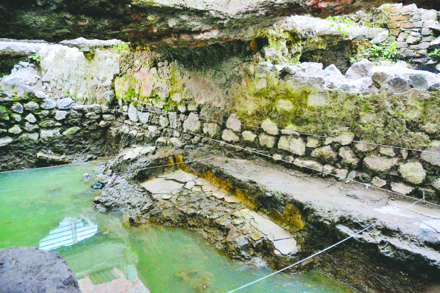Hallan restos de temazcal prehispánico en La Merced