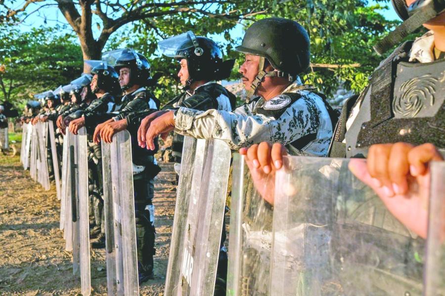 EU felicita a México porcontención en frontera