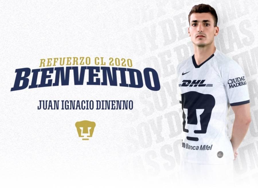 Oficial: Juan Ignacio Dinenno llega a Pumas