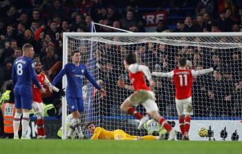 Arsenal saca el empate al Chelsea en Stamford Bridge