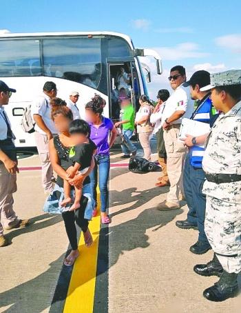 EN 21 días, México y EU suman más de 2 mil hondureños deportados