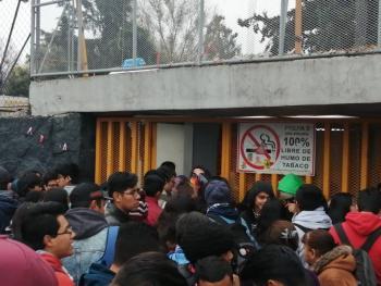 Cierran acceso a alumnos de Prepa 5