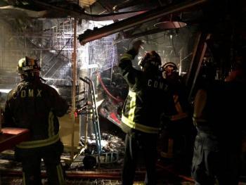Cortos circuitos, causas de incendio en mercados públicos