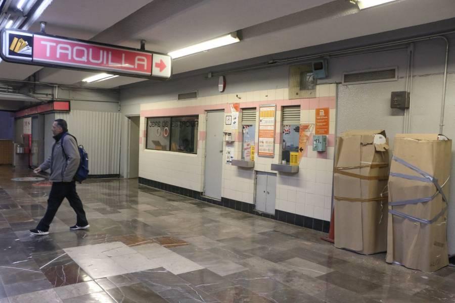 Presunto suicidio en Línea B del metro