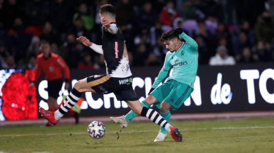 Real Madrid gana y pasa a octavos en la Copa del Rey