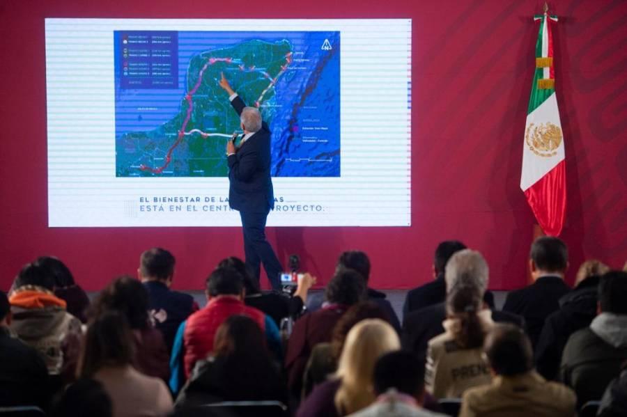 Financiar tren maya con recursos privados costaba mucho: AMLO