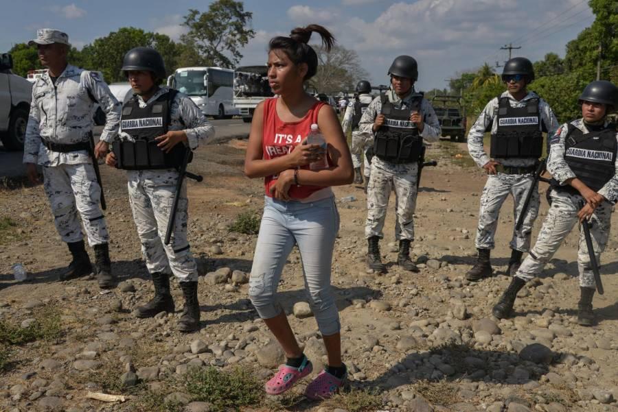 """""""Caso aislado"""", uso de gas lacrimógeno contra migrantes: AMLO"""