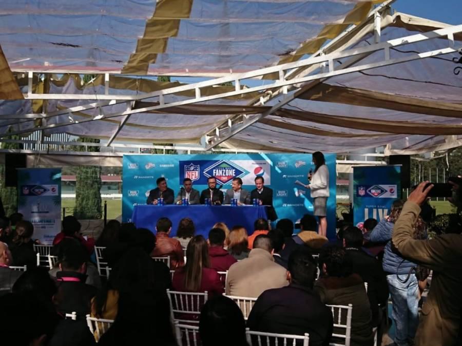 Presentan Super Bowl Fanzone en la CDMX
