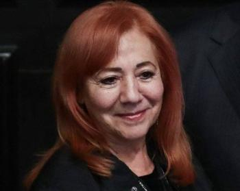 Comparece ante el pleno del Congreso la presidenta de la CNDH