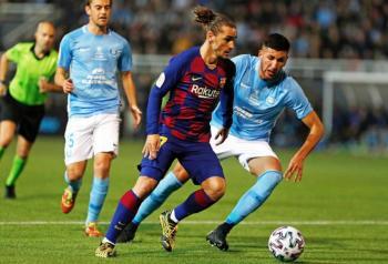 Griezmann salva al Barcelona en la Copa del Rey
