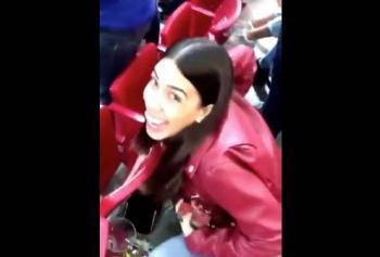 Surge #LadyCerveza en el estadio de las Chivas; la vetan del estadio