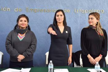 Crear marca Hecho en Iztapalapa y un cluster para el financiamiento de más empresa, propone presidenta de empresarios de la demarcación