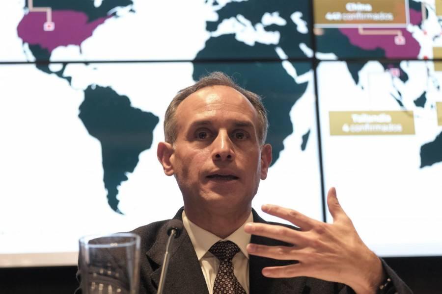 Cuestiona López-Gatell demandas de un grupo de padres de niños con cáncer