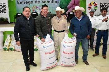 Fortalecen actividad agrícola en municipio de Soledad