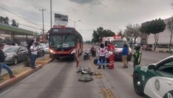 Metrobús mata a ciclista en calzada Vallejo