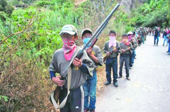 Responsabilizan al estado por los niños armados en Chilapa