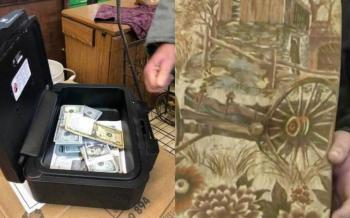 Hombre compra sillón usado y encuentra 800 mil pesos; ¿Qué hizo con el dinero?