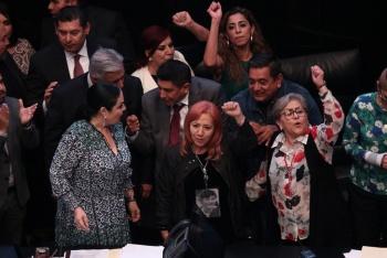 CNDH pide proteger a miembros de la marcha