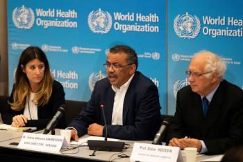 Inicia reunión de emergencia en la OMS sobre el coronavirus chino