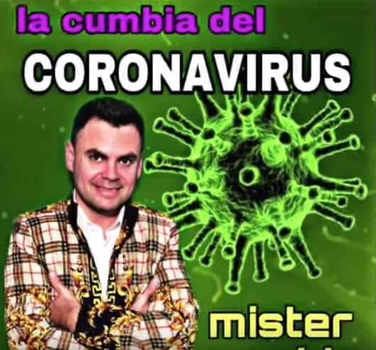 El coronavirus ya tiene cumbia