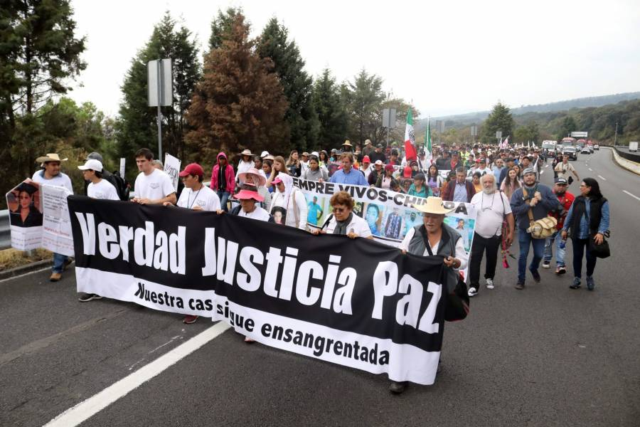 López Obrador no recibirá a la Caminata por la Paz