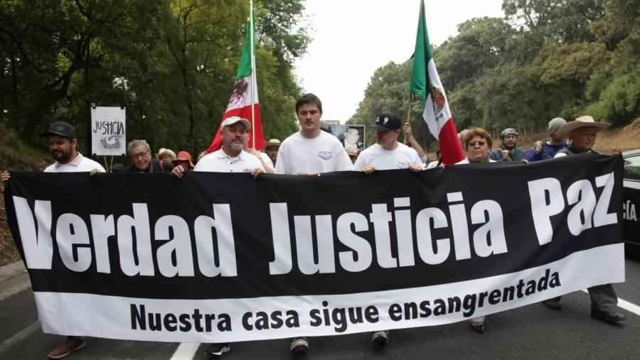 Llama Giménez Cacho al presidente a abrir su corazón y sus oídos a la marcha