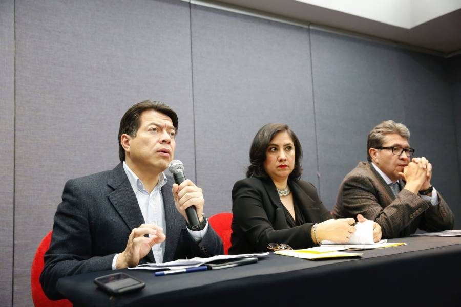 Legisladores de Morena recibirán a funcionarios federales en su reunión plenaria