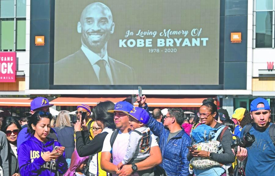Miles piden a NBA cambiar logo por silueta de Kobe Bryant