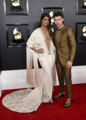 La alfombra roja en los Premios Grammy 2020