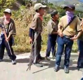 CNDH llama a proteger a niños de la policía comunitaria