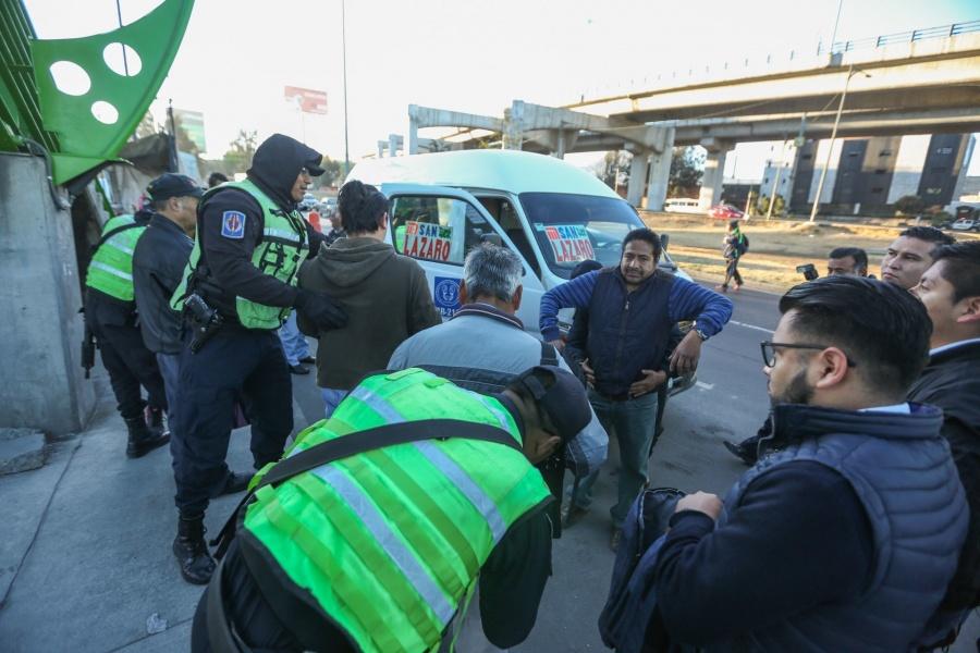 Vigilarán 600 policías el transporte de la zona oriente