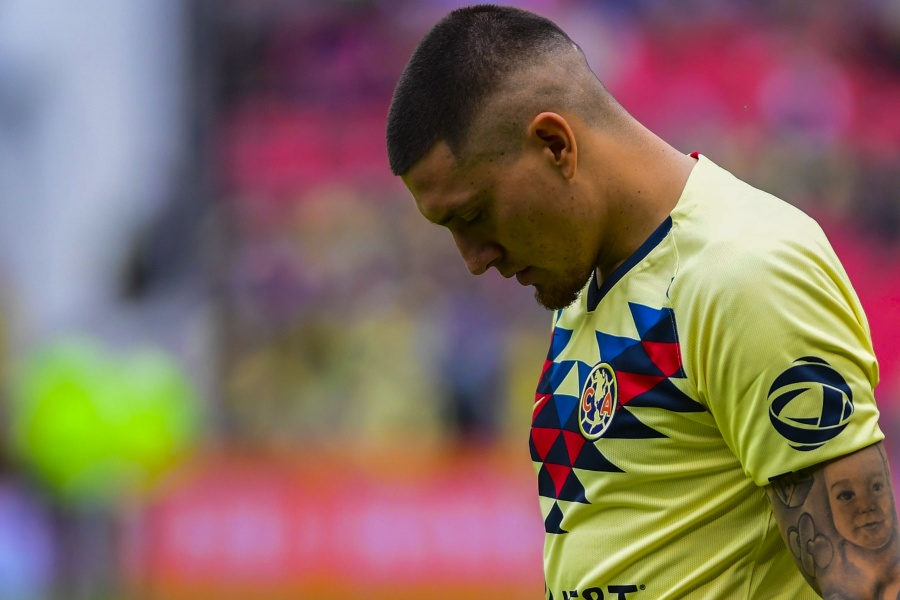 Nico Castillo el bolsillo roto del América se vuelve a lesionar