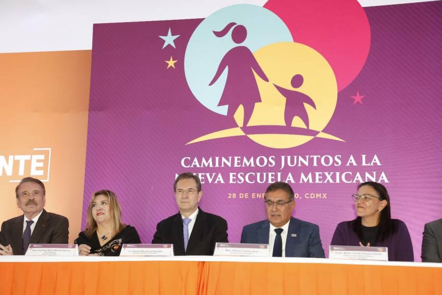 La basificación de docentes es un acto de justicia: Moctezuma Barragán