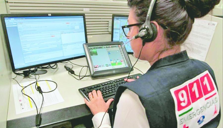 En 5 años, crecen 113%llamadas de auxilio al 911