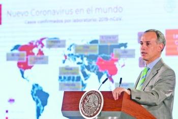"""""""Les garantizo que el virus va a llegar"""": López-Gatell"""