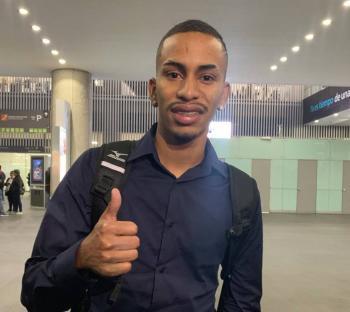 Paulinho Boia llega a la CDMX para firmar con Cruz Azul
