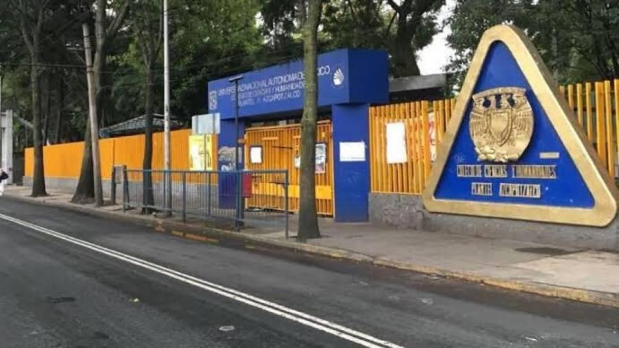 Paro de 72 horas en el CCH Azcapotzalco